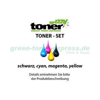 my green toner SET ersetzt Brother TN-242/TN-246 (TN-242BK, TN-246C, TN-246M, TN-246Y)